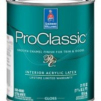 Краска Sherwin-Williams Pro Classic Acrylic Gloss (0.95л)