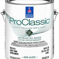 Краска Sherwin-Williams Pro Classic Alkyd Semi-Gloss (3.8л)