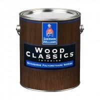 Лак Sherwin-Williams Wood Classics Waterborne Polyurethane Varnish Gloss (3.8л)