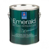 Краска Sherwin-Williams Emerald Interior Flat (3.8л)